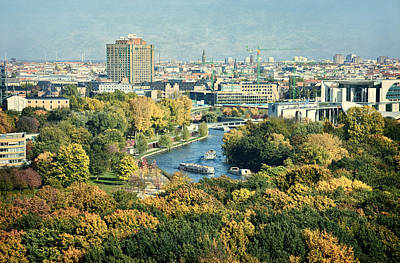 View Of Berlin / Autumn Poster by Gynt