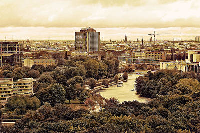 View Of Berlin Poster by Gynt