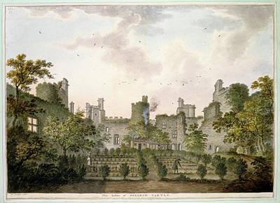View Of Bodiam Castle Poster