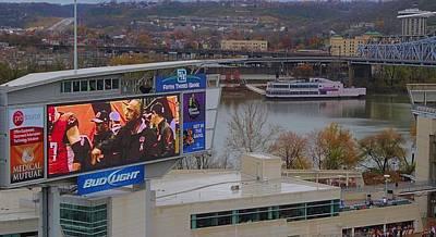 View Of Cincinnati Poster by Dan Sproul