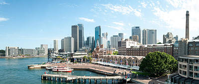 View Of Circular Quay And Downtown Poster