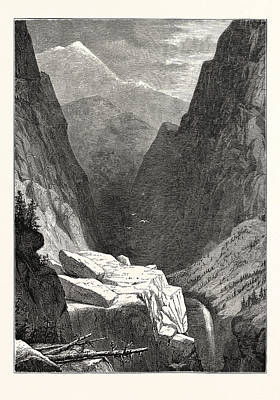 View Of Clear Creek Canyon, Colorado Poster