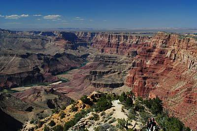 View Of Colorado River At Grand Canyon Poster