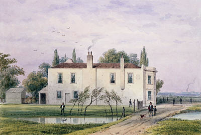 View Of Copenhagen House, 1853 Wc On Paper Poster