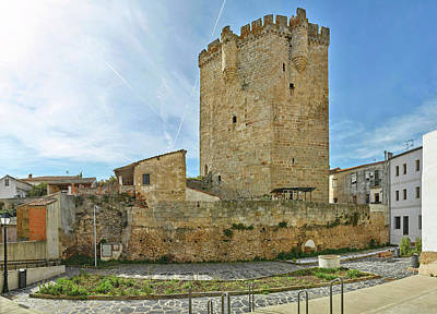 View Of Coria Castle, Coria, Caceres Poster by Panoramic Images