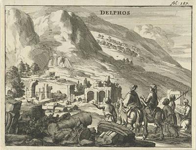 View Of Delphi, Jan Luyken, Jan Claesz Ten Hoorn Poster