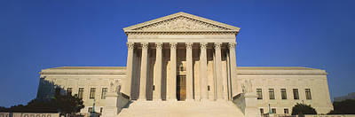 View Of Entire Us Supreme Court Poster by Panoramic Images