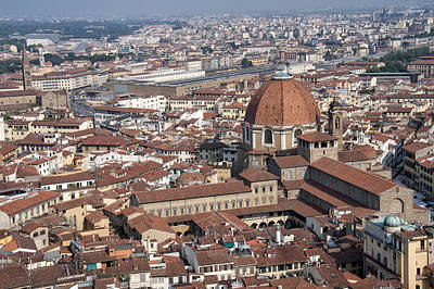 View Of Florence From Brunelleschi's Dome Poster