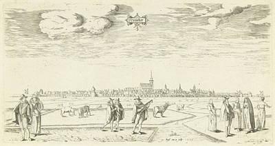 View Of Franeker 1598, Pieter Bast Poster by Pieter Bast