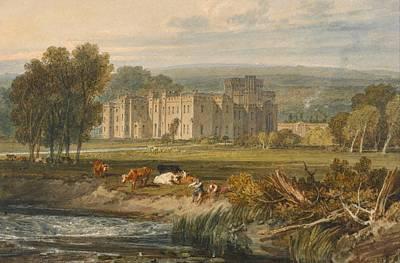 View Of Hampton Court Poster