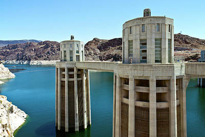 View Of Hoover Dam, Black Canyon Poster