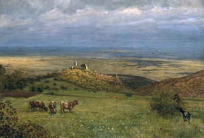 View Of Kronberg In Taunus Poster