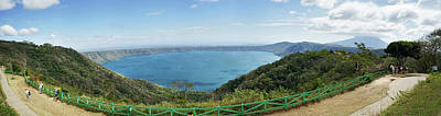 View Of Laguna De Apoyo Poster by Panoramic Images