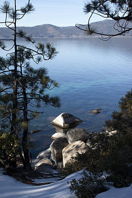View Of Lake Tahoe Poster by Ivete Basso Photography