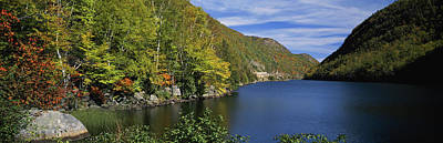 View Of Lower Cascade Lake, Keene Poster