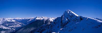 View Of Mount Mackenzie, British Poster