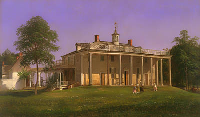 View Of Mount Vernon Poster