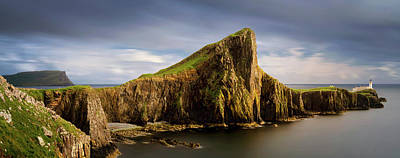View Of Neist Point Peninsula, Isle Poster by Panoramic Images