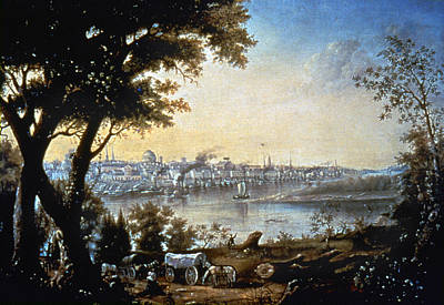View Of St Louis, C1846 Poster by Granger