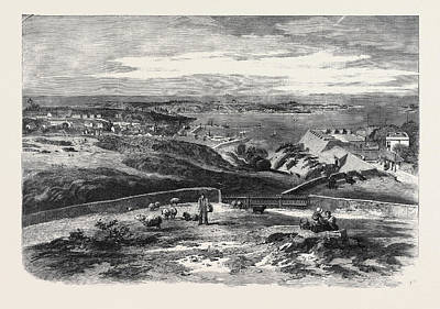 View Of St. Peter Port Guernsey Taken Above Fort George Poster