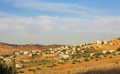 View Of Suburban Area Of Amman, Jordan Poster by Keren Su
