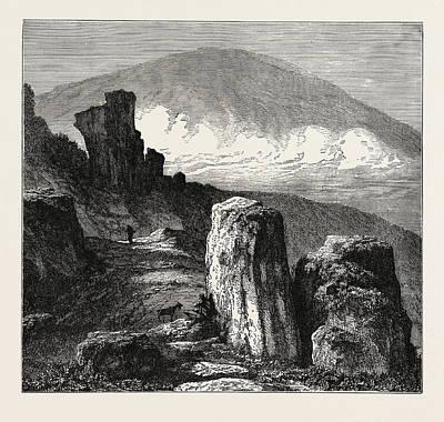 View Of The Brocken, In The Harz Mountains Poster by Litz Collection