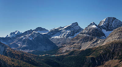 View Of The Burstall Pass, Mt. Black Poster by Panoramic Images