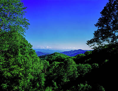 View Of The Great Smoky Mountains Poster