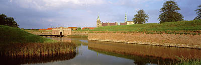 View Of The Kronborg Castle, Helsingor Poster