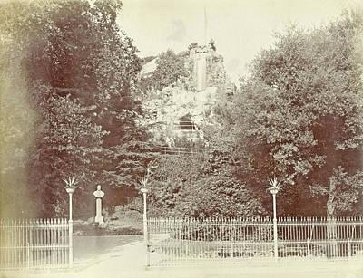 View Of The Park Villetta Di Negro In Genoa Poster