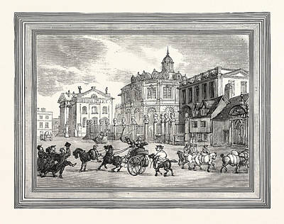 View Of The Sheldonian Theatre Printing House Etc Poster by English School