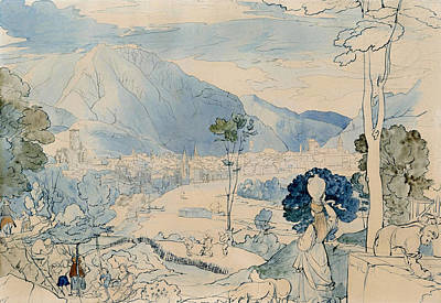 View Of Trento  Poster by Mountain Dreams