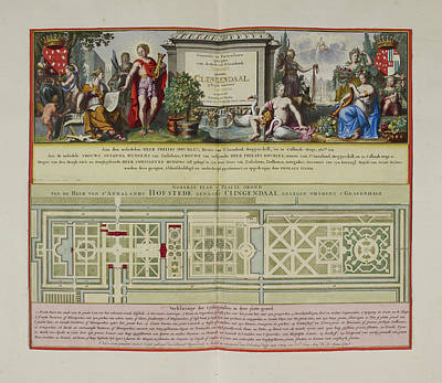 Views Of The Lord Of Annaland's Seat Poster by British Library
