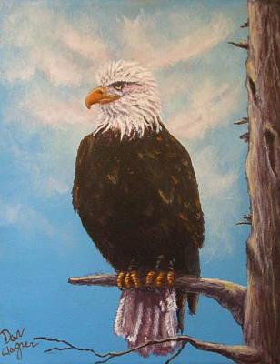 Vigilant Eagle Poster