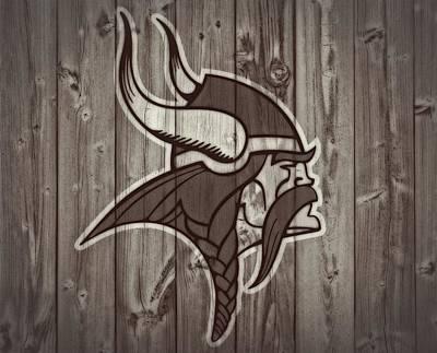 Vikings Barn Door Poster by Dan Sproul