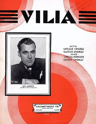 Vilia Poster by Mel Thompson