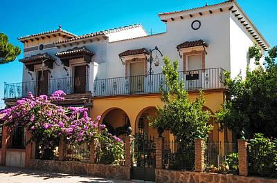 Villa In Ronda. Spain Poster by Jenny Rainbow