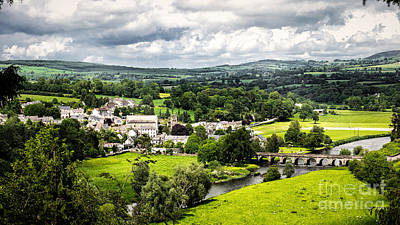 Village Of Inistioge Poster by Daniel Heine
