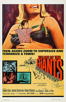 Village Of The Giants, Us Poster Art Poster by Everett