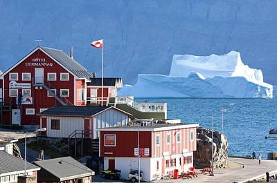 Village Uummannaq Greenland Poster by Daisy Gilardini