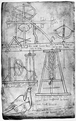 Villard De Honnecourt Poster by Granger