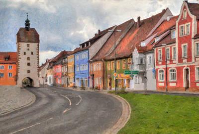Vilseck Marktplatz Poster
