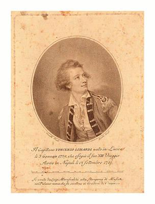 Vincenzo Lunardi,  Nesmith, Pinxt.  Burke Poster by English School
