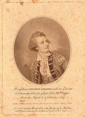 Vincenzo Lunardi,  Nesmith, Pinxt.  Burke Poster by Litz Collection