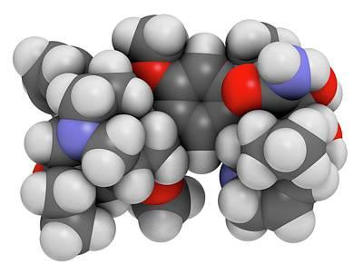 Vindesine Cancer Chemotherapy Drug Poster by Molekuul