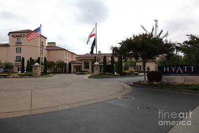 Vineyard Creek Hyatt Hotel Santa Rosa California 5d25789 Poster
