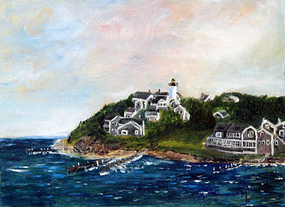 Vineyard Village Poster