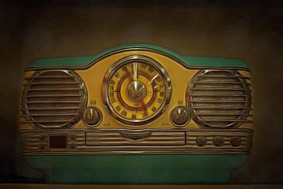 Vintage Am Fm Memorex Radio  Poster