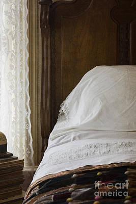 Vintage Bedding Poster by Margie Hurwich