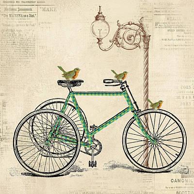 Vintage Bike-c Poster